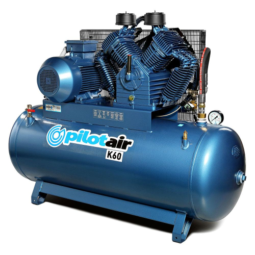 Pilot Air K60 - 500 Litre / 15hp Industrial Air Compressor|A photo of the Pilot Air K60 - 500 Litre / 15hp Industrial Air Compressor