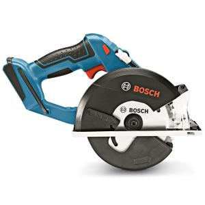 BOSCH 18V 136MM CIRCULAR SAW FOR METAL SKIN GKM 18 V-LI 06016A4040