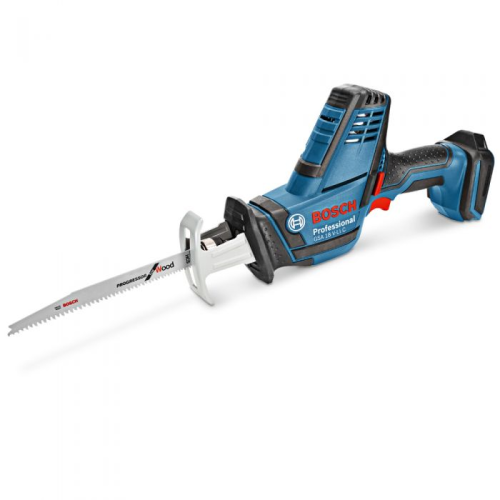 BOSCH 18V SABRE SAW SKIN GSA 18V-LIC|A photo of the BOSCH 18V SABRE SAW SKIN GSA 18V-LIC