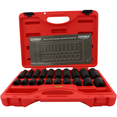KC Tools 20pc 1/2|A photo of the KC Tools 20pc 1/2