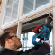 BOSCH 18V BRUSHLESS RECIPROCATING SAW SKIN Action shot |A photo of the BOSCH 18V BRUSHLESS RECIPROCATING SAW SKIN Action shot