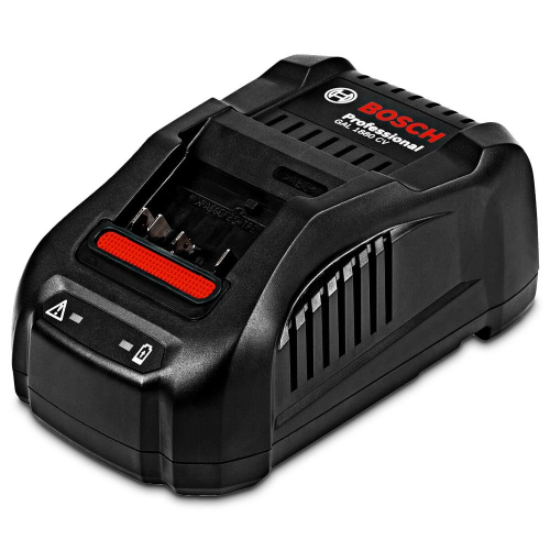 Bosch 18v fast battery charger gal 1880 CV (1600A00N5M)|Bosch 18v fast battery charger gal 1880 CV (1600A00N5M) Front Facing
