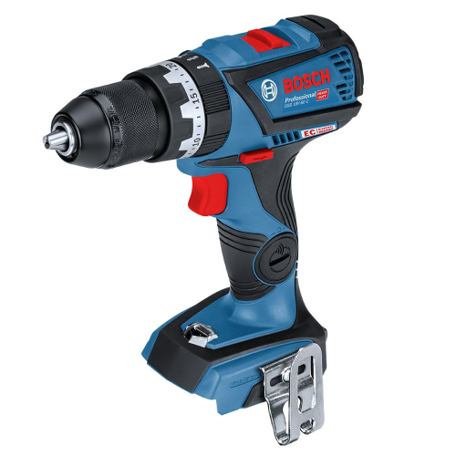 BOSCH 18V BRUSHLESS 13MM HAMMER DRILL|A photo of the BOSCH 18V BRUSHLESS 13MM HAMMER DRILL