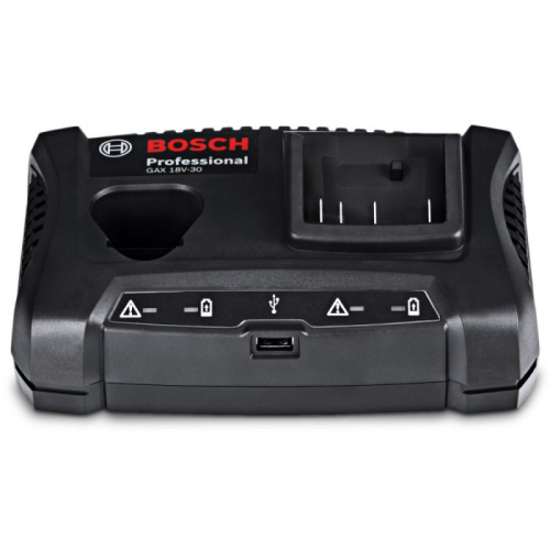 BOSCH 12V-18V MULTIVOLT BATTERY CHARGER|A photo of the BOSCH 12V-18V MULTIVOLT BATTERY CHARGER