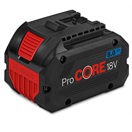 Bosch Blue18V ProCORE18V 8.0Ah Lithium Ion Battery|A photo of the Bosch Blue18V ProCORE18V 8.0Ah Lithium Ion Battery