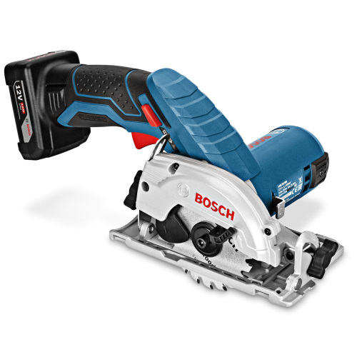 BOSCH 12V 85MM CIRCULAR SAW SKIN |A photo of the BOSCH 12V 85MM CIRCULAR SAW SKIN