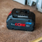 Bosch Blue18V ProCORE18V 8.0Ah Lithium Ion Battery Action shot |A photo of the Bosch Blue18V ProCORE18V 8.0Ah Lithium Ion Battery Action shot