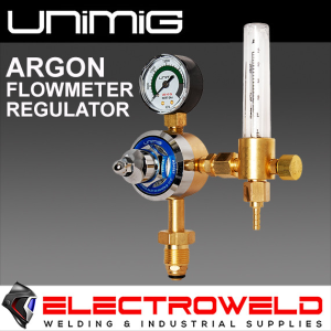 UNIMIG Argon Flowmeter Welding Gas Regulator Bobbin - FLOWREG