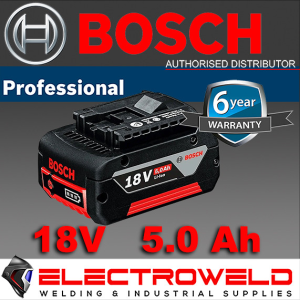 Genuine BOSCH Blue 18v 5.0ah GBA Professional Battery Lithium-ion Li-ion M-C