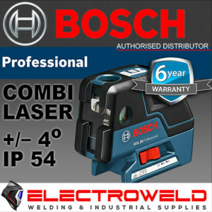 BOSCH Combi 5 Point Cross Line Laser Level - GCL 25