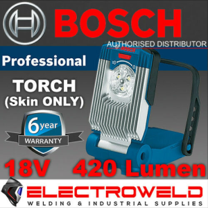 BOSCH 18V 420 Lumen LED Torch / Flood Spot Light / Lamp (Skin Only) - GLI VariLED