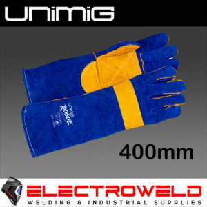 UNIMIG Rogue 400mm Heavy Duty Mig Leather Welding Gloves