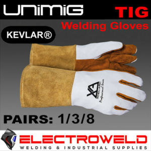 UNIMIG Deersoft Leather Tig Welding Gloves Rigger / Work (Soft Touch)
