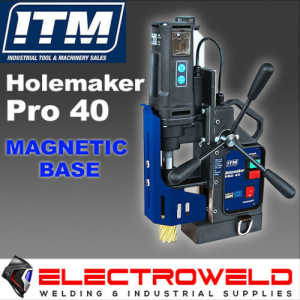 Holemaker Pro 40 Magnetic Base Drill Hole Annular Cutter - HMPRO40