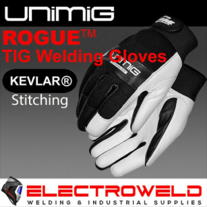 UNIMIG Rogue Tig Welding Gloves, Premium Goat Leather - UM-S-TG1