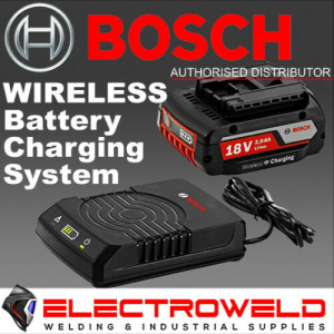 BOSCH Blue 18V Li-Ion 2.0Ah Wireless Battery and Charger /Charging System - WLC18