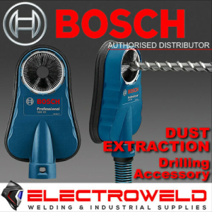 BOSCH Dust Extraction / Removal Drilling Adaptor, for Core Cutter Hammer Drill - GDE 68mm