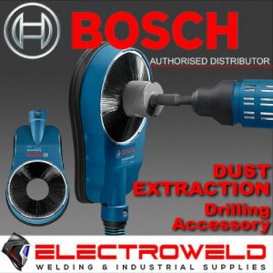 BOSCH Dust Extraction / Removal Drilling Adaptor, for Core Cutter Hammer Drill - GDE 162