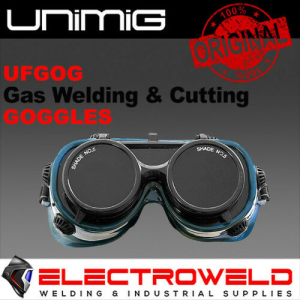 UNIMIG Gas Welding & Cutting Goggles / Glasses, Shade 5 Eye Protection - UFGOG