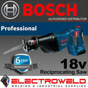 BOSCH 18V Cordless Reciprocating Saw (Skin Only) - GSA 18V-Li