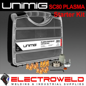 UNIMIG SC80 Plasma Cutter Torch Consumable Starter Kit  - UMSK45