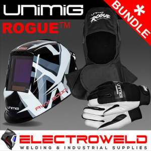 UNIMIG Razor Razorweld RWX8000 Welding Bundle - *Helmet, Rogue Hood, Gloves*