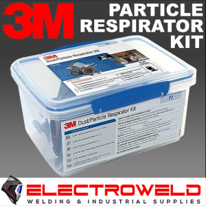 3M Particle Welding Respirator Kit *6000 Half Face Mask + 2125 P2 Filters* Gas / Paint / Welding - S, M, L