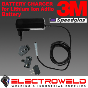 3M Speedglas Battery Charger -Upgraded Adflo PAPR Li-ion Battery Helmet - 833111