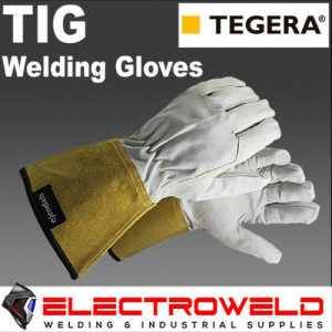 Ejendals TEGERA 126A TIG Welding Gloves, Goat Skin Leather - TEGERA126A