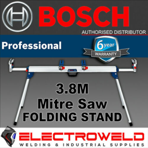 BOSCH 3.8M Mitre Saw Stand Folding Leg Rapid Release Work Bench - GTA3800