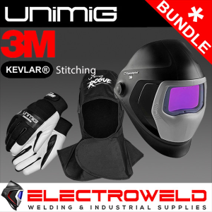 3M Speedglas Welding Helmet 9100XXi Bundle *Helmet, Gloves, Hood, Bag, 2x Lens*