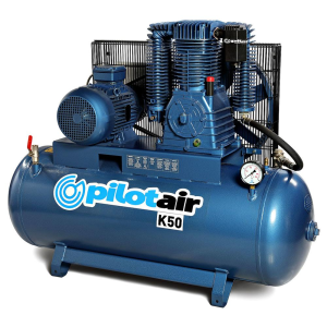 Pilot Air K30 - 200 Litre / 7.5hp Industrial Air Compressor