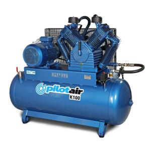 Pilot Air K100 - 500 Litre / 20hp Industrial Air Compressor