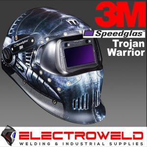 3M™ Speedglas™ Graphic Welding Helmet 100, 751620 - Trojan Warrior