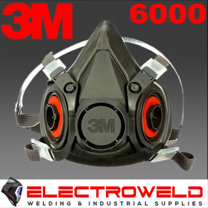 3M™ Half Face Reusable Respirator 6000 Series