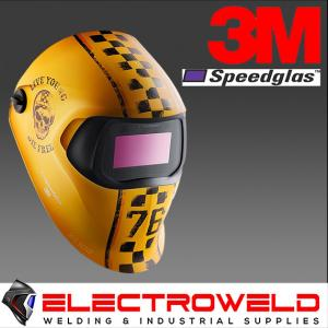 3M™ Speedglas™ Graphic Welding Helmet 100, 752920 - Motor