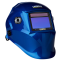 CIGWELD ProLite Automatic Welding Helmet - Blue|A photo of the CIGWELD ProLite Automatic Welding Helmet - Blue facing right