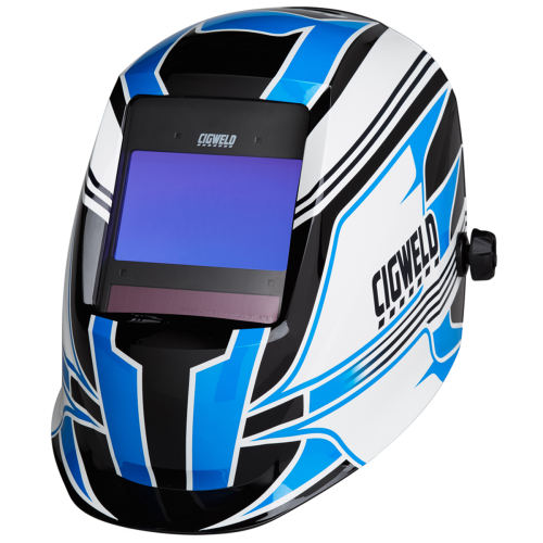 CIGWELD ProPlus Digital Automatic Welding Helmet - Pro Racer|A photo with the CIGWELD ProPlus Digital Automatic Welding Helmet - Pro Racer