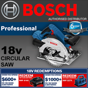 BOSCH 18V 165mm Cordless Circular Saw Mitre GKS 18V-57 06016A2240 *Skin Only