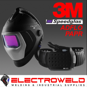 3M™ Speedglas™ 9100XXi Air Welding Helmet with Adflo PAPR - 507726