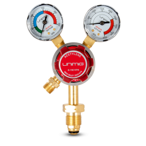 Unimig Twin Gauge Acetylene Regulator
