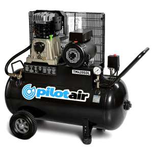 Pilot Air TM420SDL+- 100 Litre / 3hp Industrial Air Compressor
