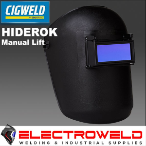 CIGWELD Hiderok Manual Lift Front Welding Helmet - 453833