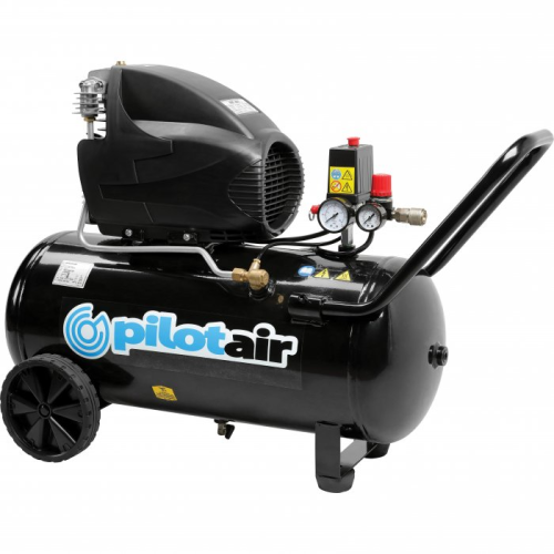 Pilot Air MK265-50 - 50 Litre / 2hp Industrial Air Compressor |A photo of the Pilot Air MK265-50 - 50 Litre / 2hp Industrial Air Compressor