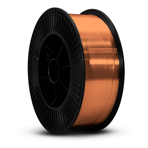 Unimig 0.6mm 15kg Solid Steel Welding Wire ER70S-6|A photo of the Unimig 0.6mm 15kg Solid Steel Welding Wire ER70S-6