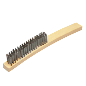 CIGWELD Stainless Steel Bristle Wire Brush (646365)