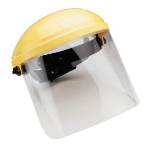 CIGWELD Faceshield Complete Polycarbonate High Impact – CLEAR