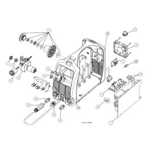 FAN ASSEMBLY,TRANSMIG 175i (W7004907)