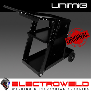 UNIMIG Small Welding Trolley for Mig/Tig/Stick, Welder Cart - UMJRTROLLEY2