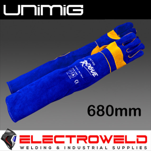 UNIMIG Rogue 680mm Long Heavy Duty Welding Gloves